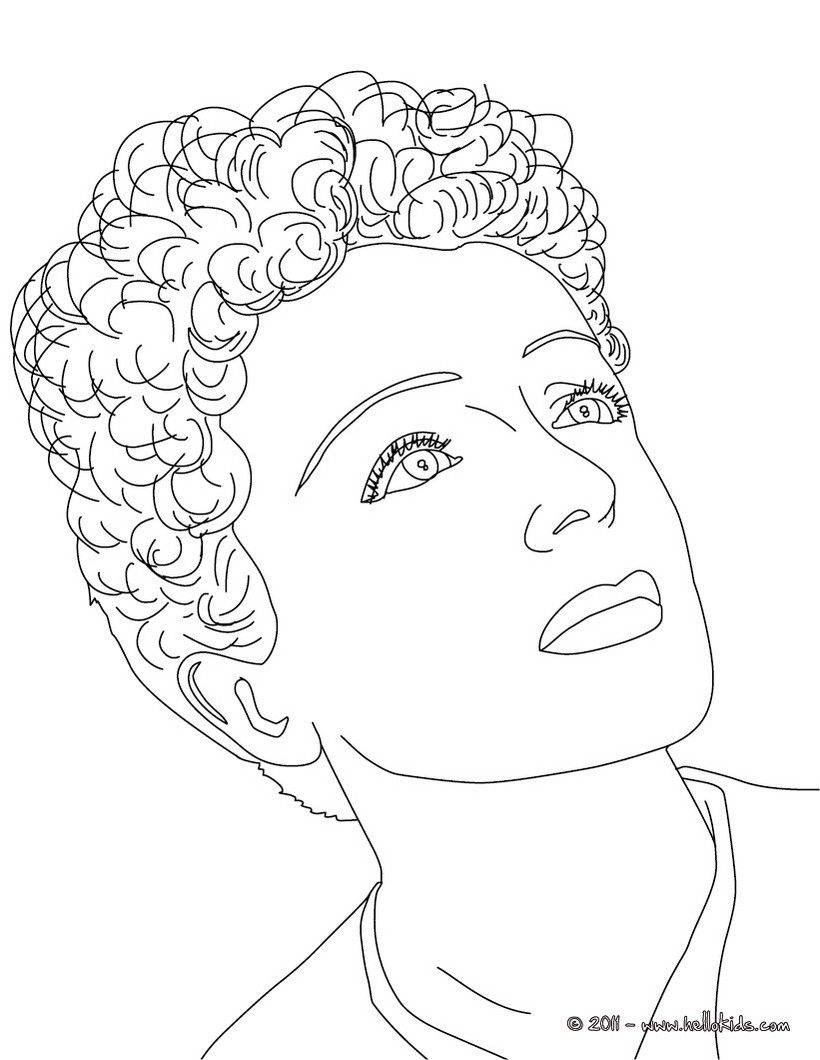 820x1060 Stunning Famous French People Coloring Pages Printable Image