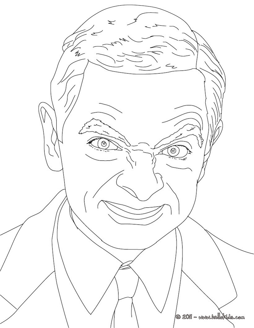 820x1060 Celebrity Coloring Pages Famous People Site Image