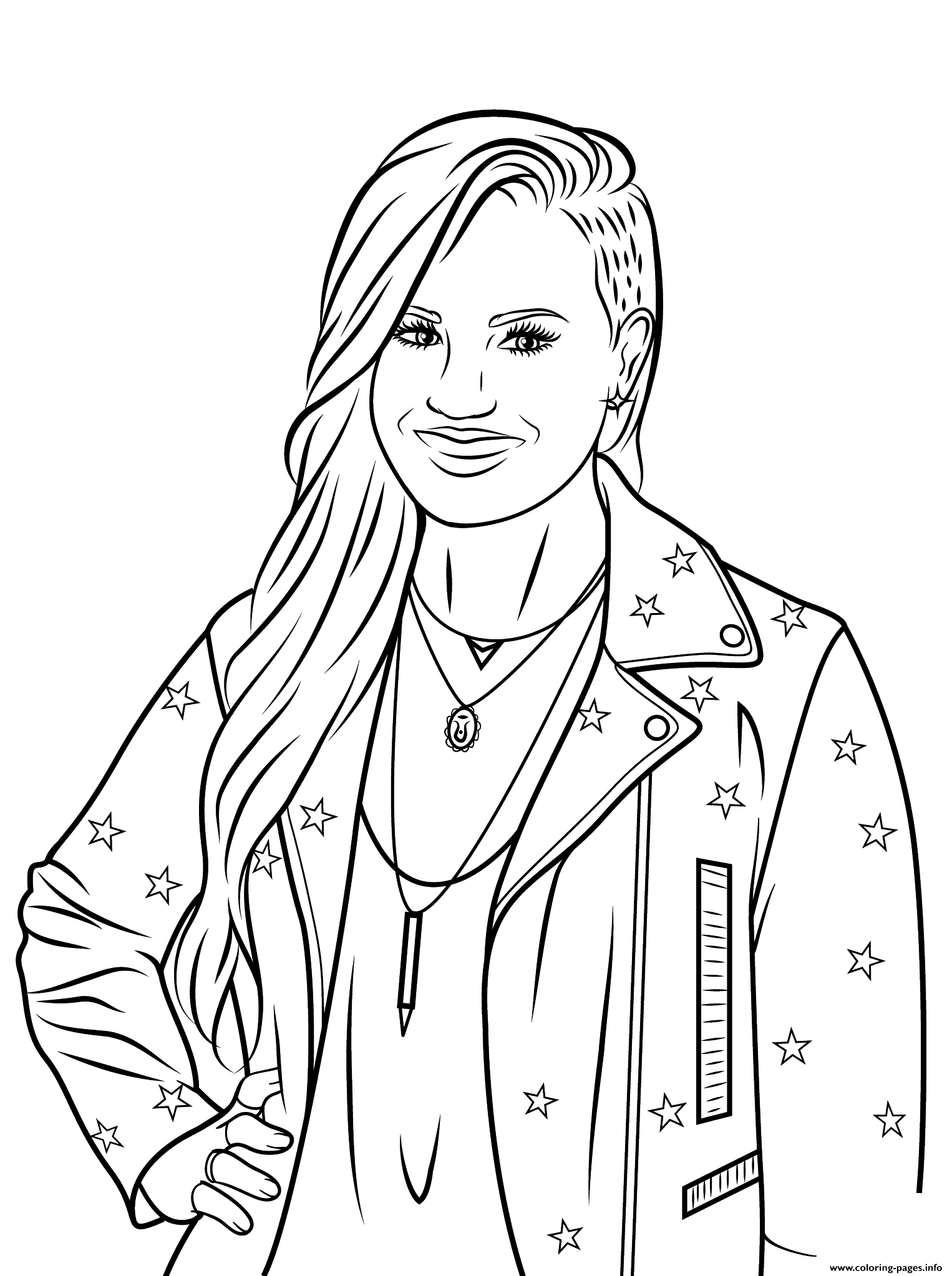 1526x2046 Celebrity Coloring Pages Famous People Online Page