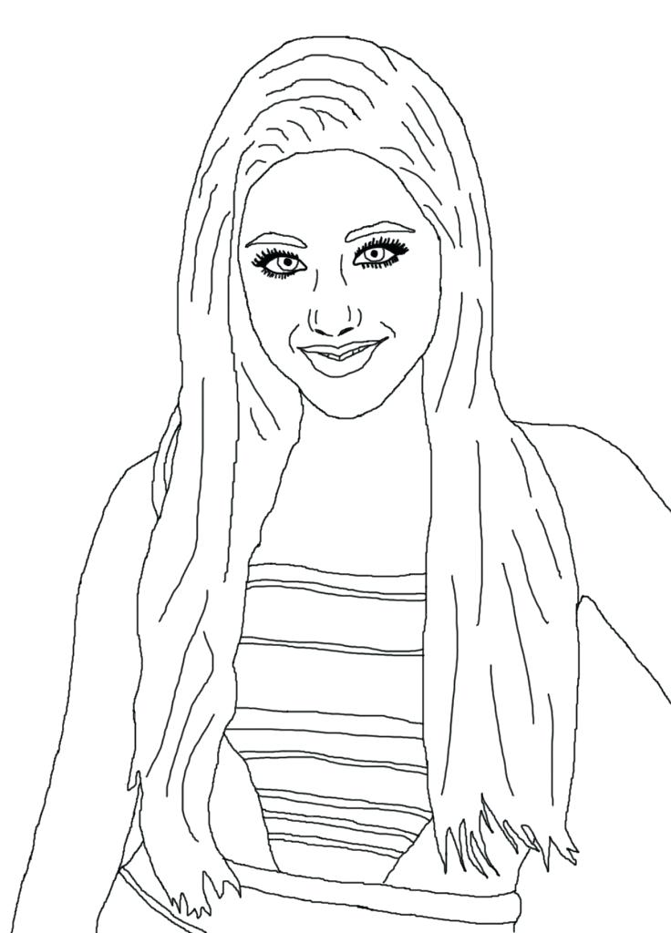 736x1024 Celebrity Coloring Pages Games