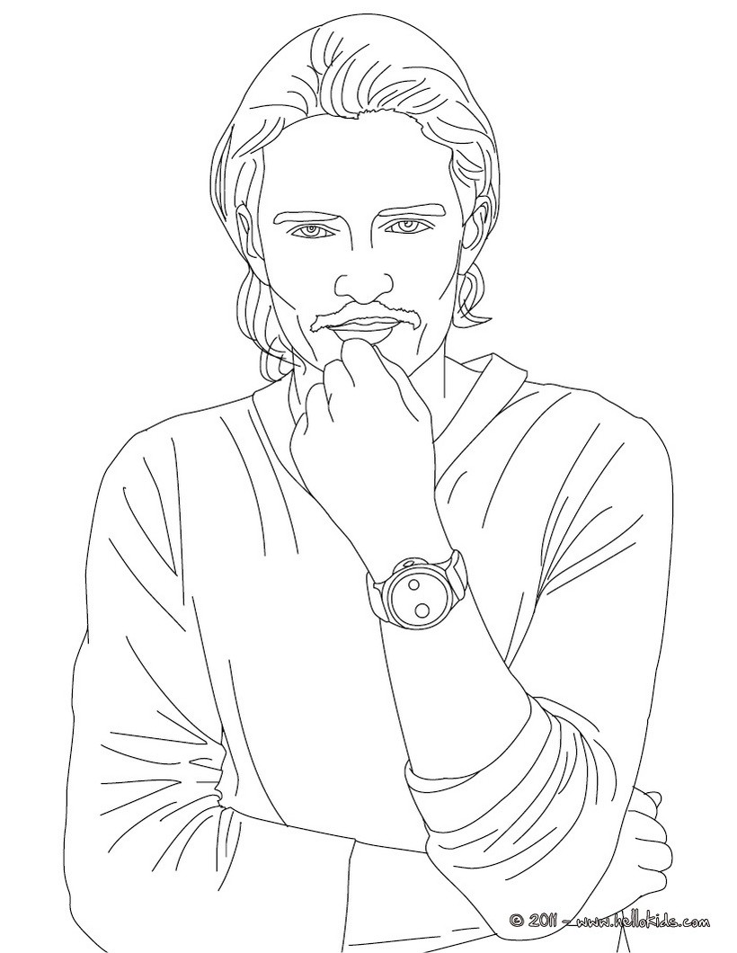 820x1060 Coloring Pages Of Famous People