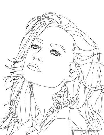 Famous Singers Coloring Pages