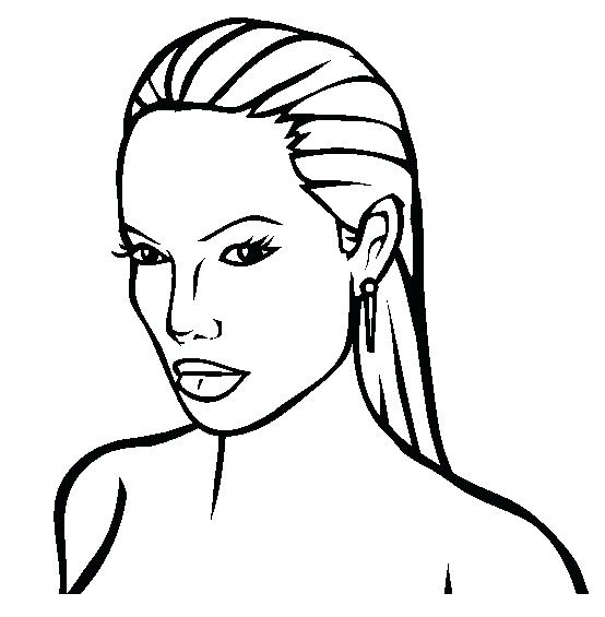 554x565 Famous People Coloring Pages Close Up Coloring Page More Coloring