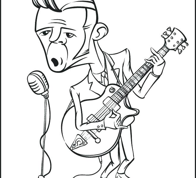 660x600 Rock N Roll Coloring Sheets Rock And Roll Coloring Pages Rock N