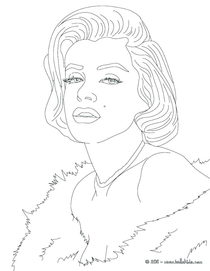 700x904 Famous People Coloring Pages