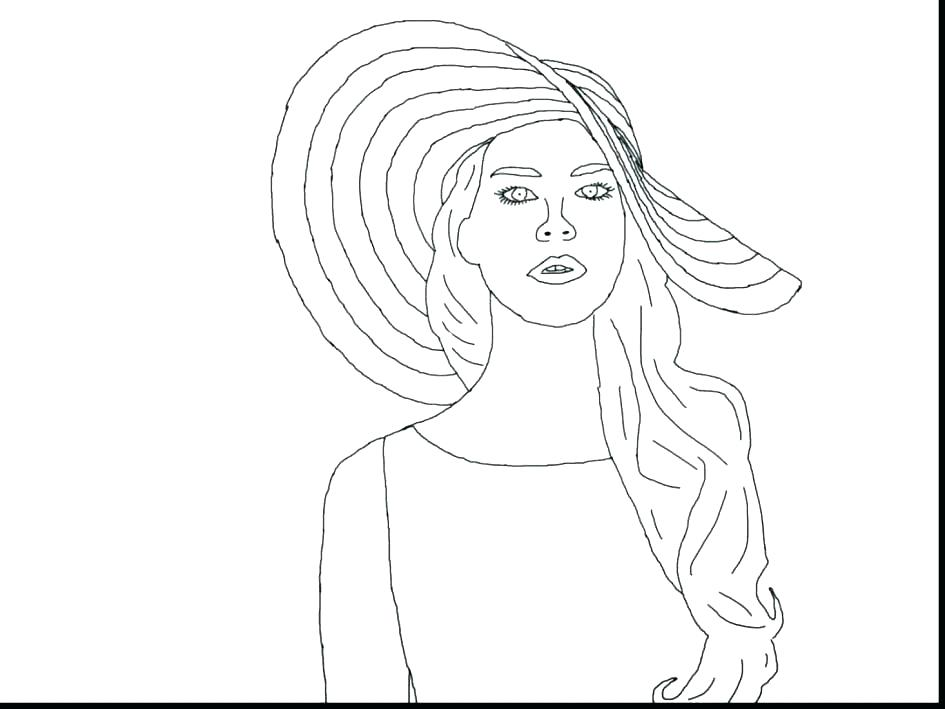 945x709 Famous People Coloring Pages