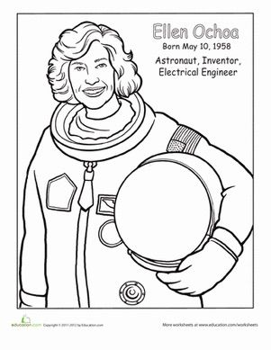 301x389 Fabulous, Famous Women Coloring Pages For Kids History