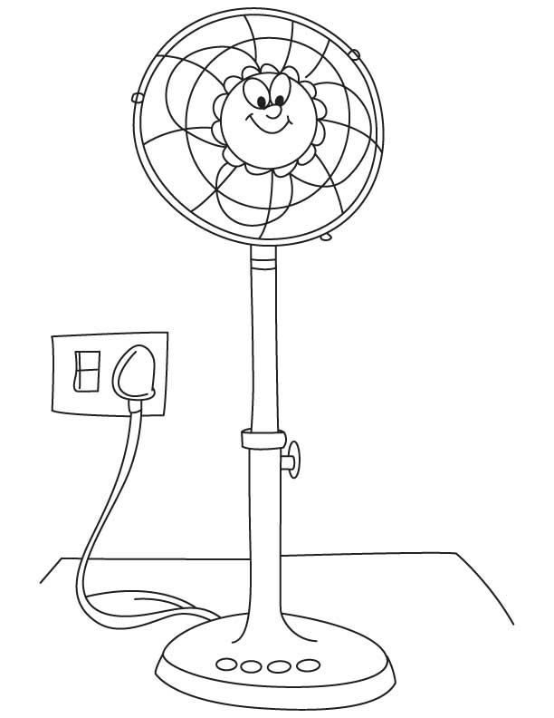612x792 Fan Coloring Pages Fan Coloring Printable Coloring Pages