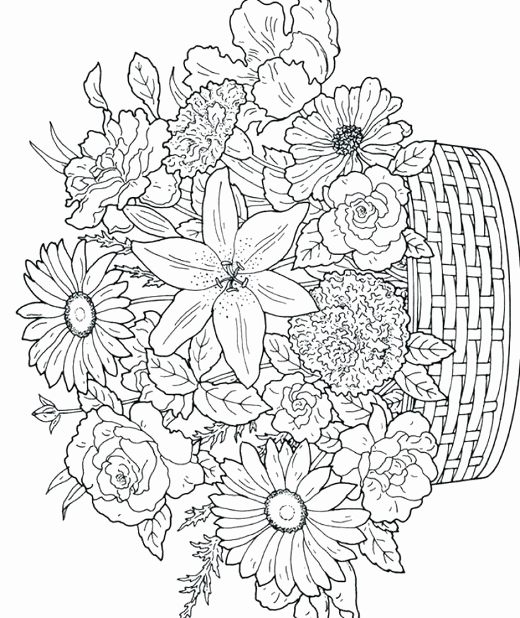 736x875 Fancy Coloring Pages Collection Intricate Coloring Pages Printable