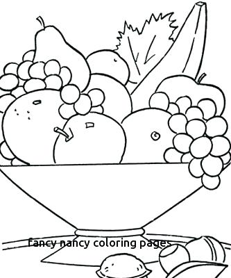 333x400 Fancy Nancy Coloring Pages Pie Coloring Sheet Fancy Coloring Pages