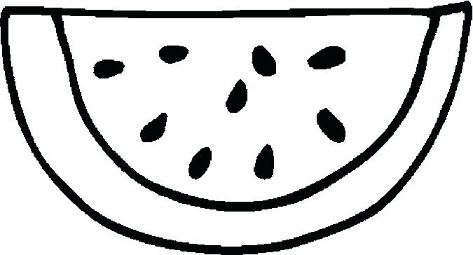 675x364 Watermelon Coloring Pages New Fancy For Your Crayola Photo With W