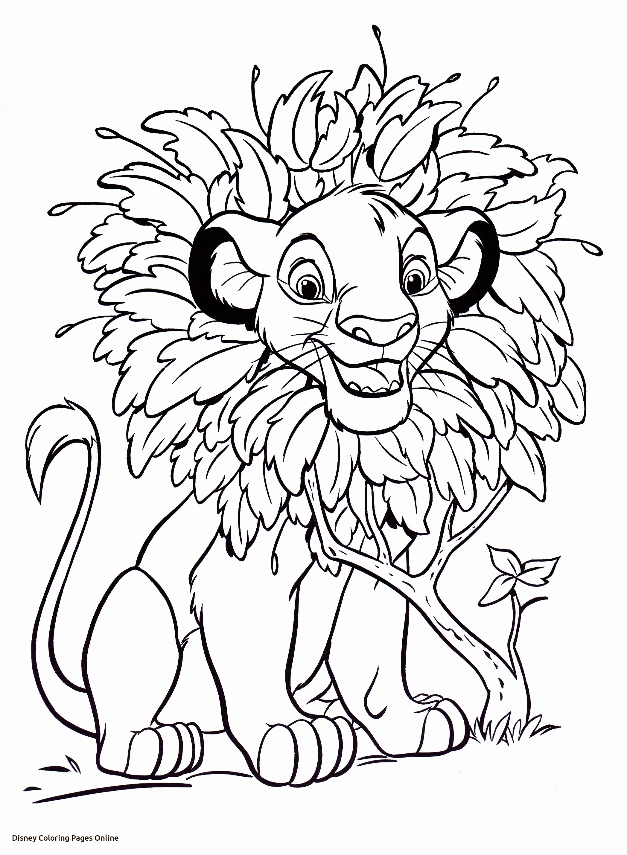 2096x2859 Disney Coloring Page Pages Online Colouring For Fancy Kids Disney