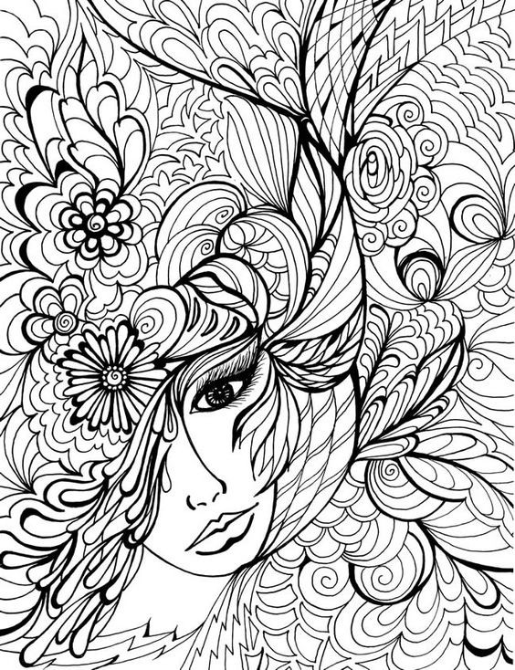 564x734 Fancy Free Printable Coloring Pages For Adults Only Your