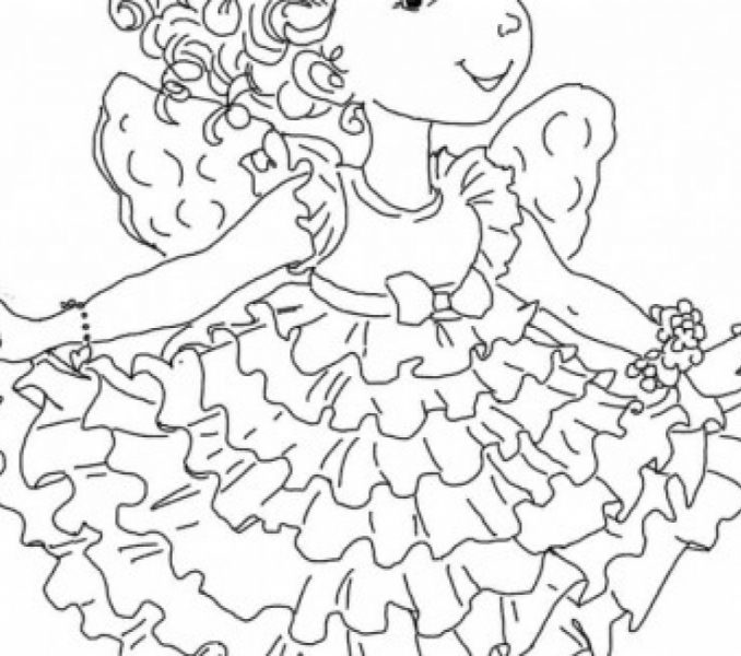 678x600 Fancy Nancy Coloring Pages Fancy Nancy Printable Activities
