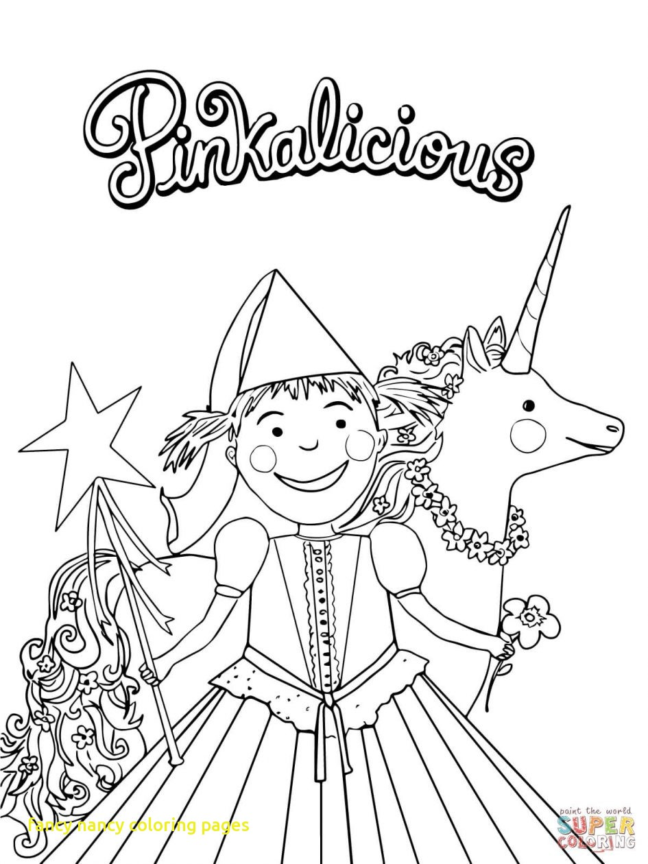 945x1260 Fancy Nancy Coloring Pages With Plain Design Fancy Nancy Coloring