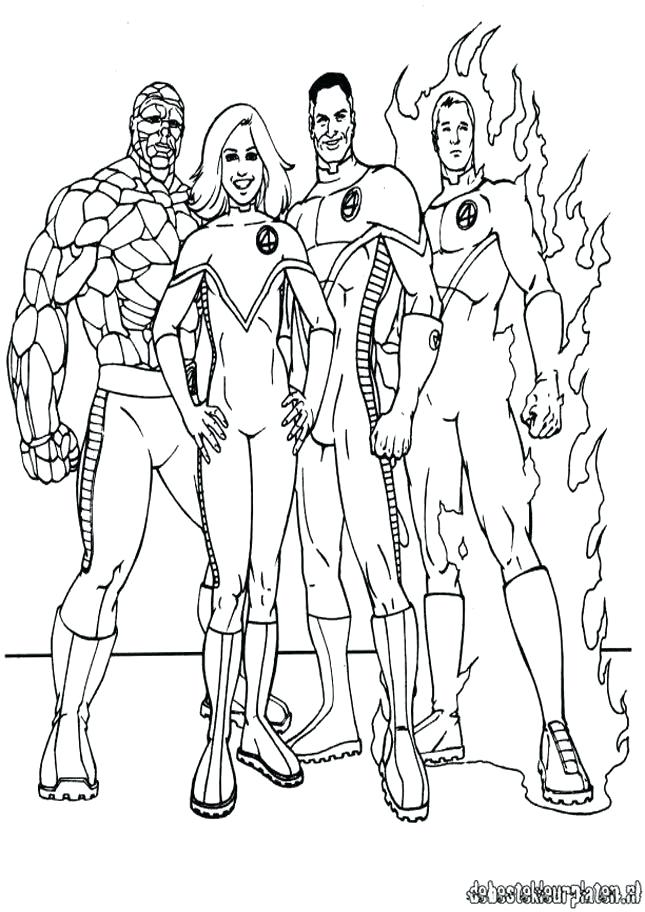 645x912 Fantastic Coloring Pages Fantastic Four Coloring Pages Fantastic
