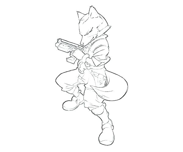 600x500 Fox Coloring Book Arctic Fox Coloring Page Top Rated Fox Coloring