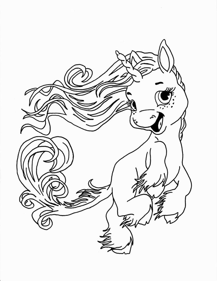 Fantasy Animal Coloring Pages