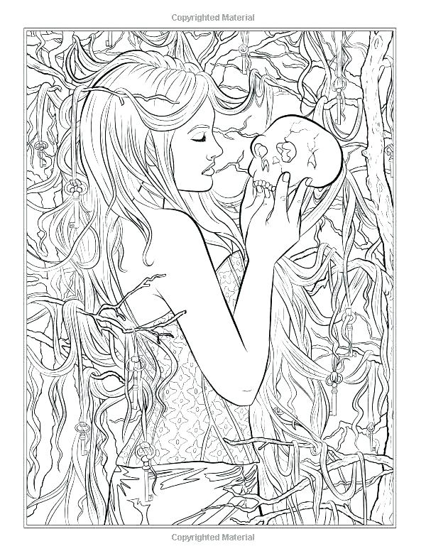 600x783 Fresh Gothic Coloring Pages Or Coloring Pages Dark Fantasy Fresh