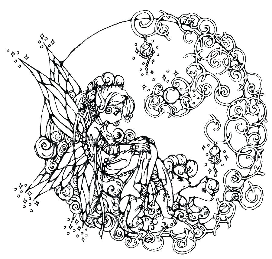 900x856 Free Coloring Pages Adults Fantasy Coloring Pages For Adults