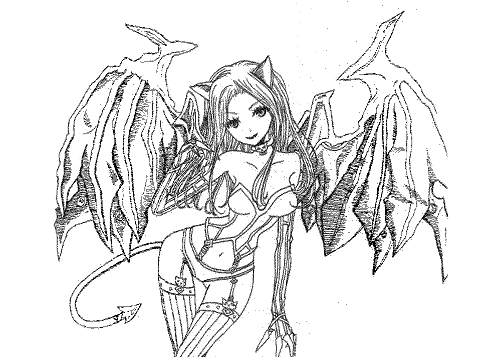 1000x714 Free Fantasy Coloring Pages For Adults