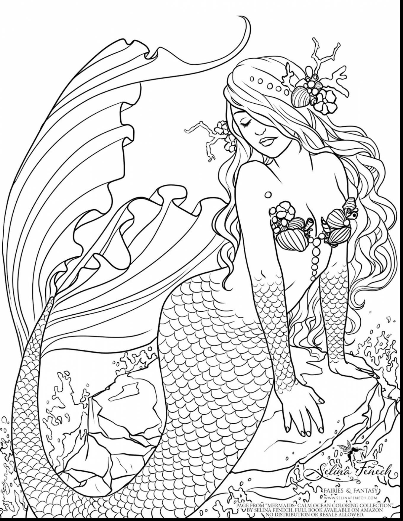 1360x1760 Greatest Free Printable Fantasy Coloring Pages
