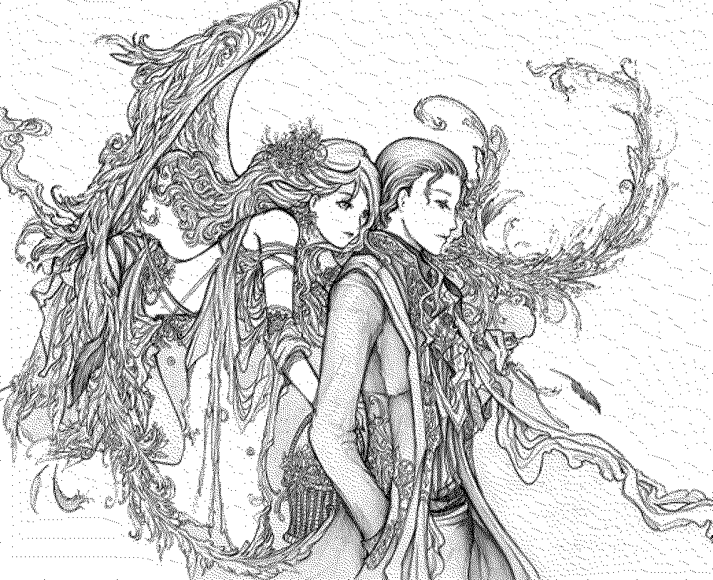 1000x813 Unparalleled Free Printable Fantasy Coloring Pages For Adults