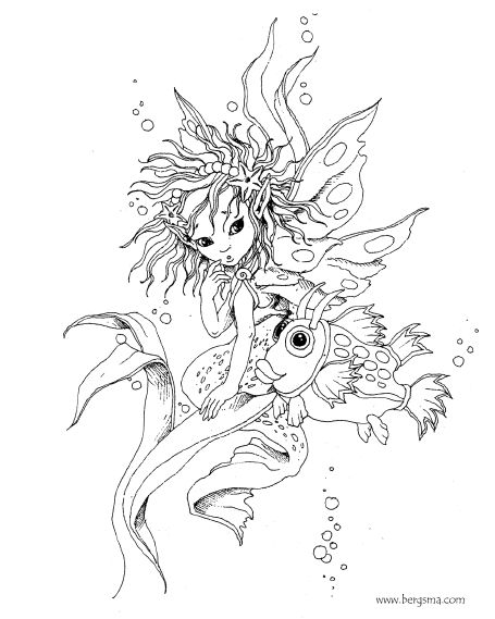 455x569 Best Coloring Pages Fantasy Images On Coloring