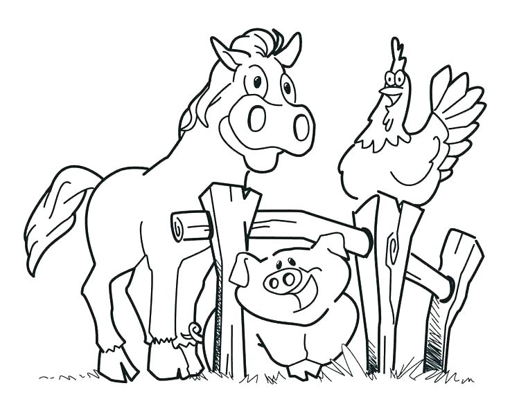 Farm Coloring Pages For Kids At Getdrawings Com Free For Personal