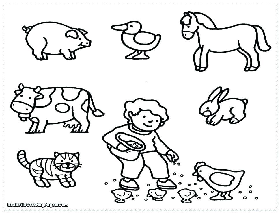 970x737 Farm Coloring Page Farm Color Pages Coloring Pages Farm Coloring