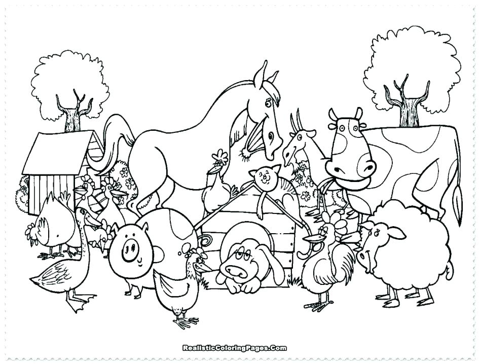945x718 Farm Coloring Pages Farm Coloring Pages Farm Coloring Pages