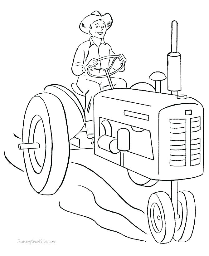 670x820 Farm Coloring Pages Farm Equipment Coloring Pages Free Coloring