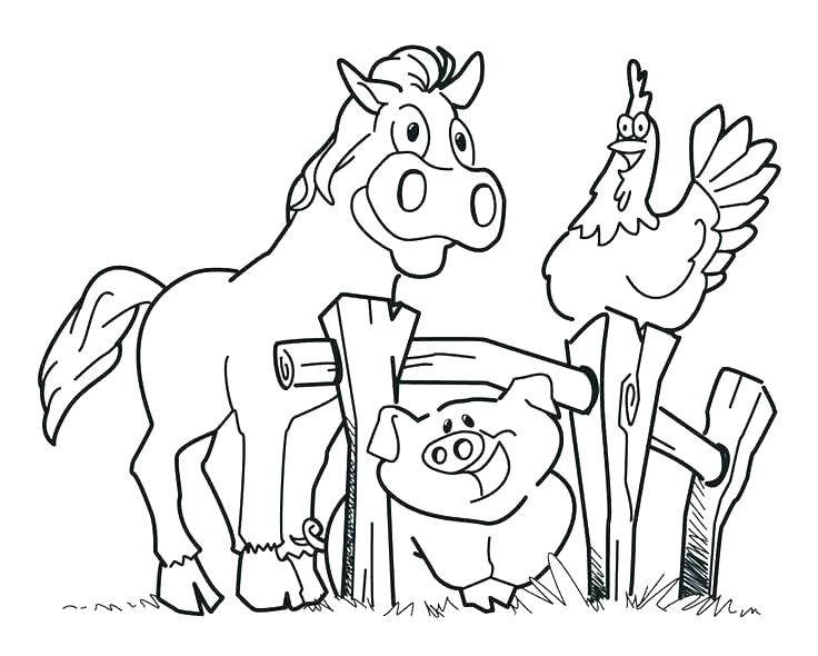 736x590 Farm Coloring Pages Free Free Printable Coloring Pages Animals