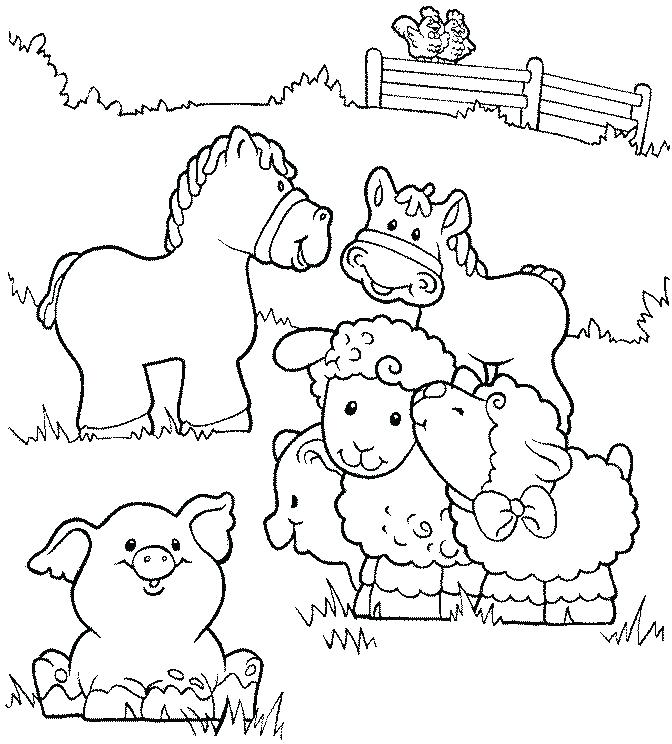 672x744 Farm Coloring Pages Yard Free Coloring Pages Farm Equipment