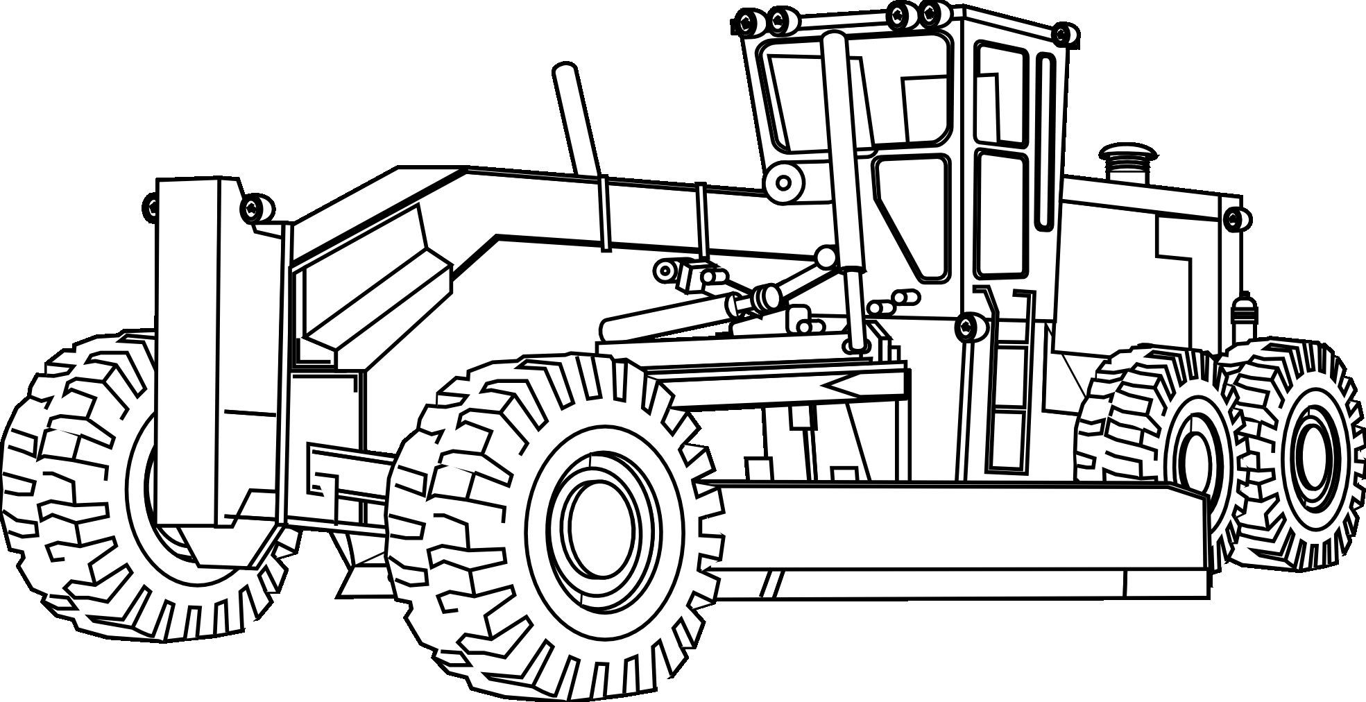 1969x1012 Farm Equipment Coloring Pages
