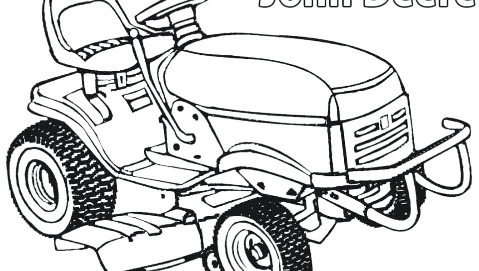 960x544 John Deere Coloring Pages Free Tractor Book Colouring Construction