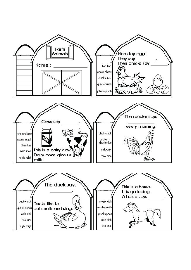 Farm House Coloring Pages at GetDrawings.com | Free for personal use ...