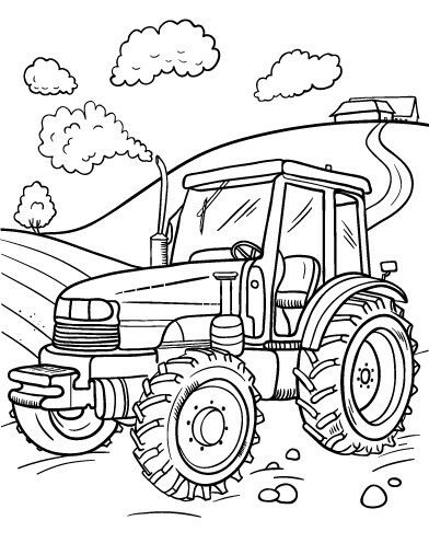 392x507 Szablony Farm Animals Preschool