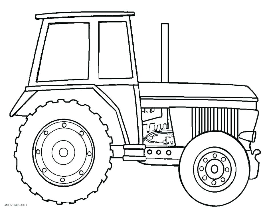 950x737 Tractor Coloring Books Also Coloring Page Tractor John Farm