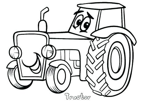 474x338 Tractor Coloring Sheet John Tractor Coloring Page Johnny Tractor