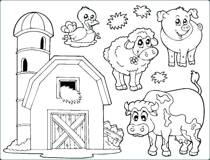 700x531 Farm Colouring Pages Free Printables Free Printable Farm Animal