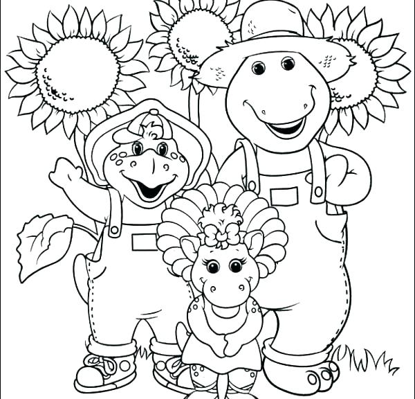 600x576 Farm Tractor Coloring Pages Coloring Pages Barney Index Coloring
