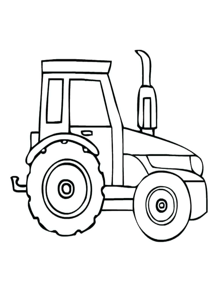 750x1000 Coloring Pages Tractor Exciting Tractor Coloring Pages