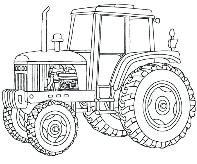 661x551 Colouring Page Tractor Colouring Page Coloring Pages Farmall