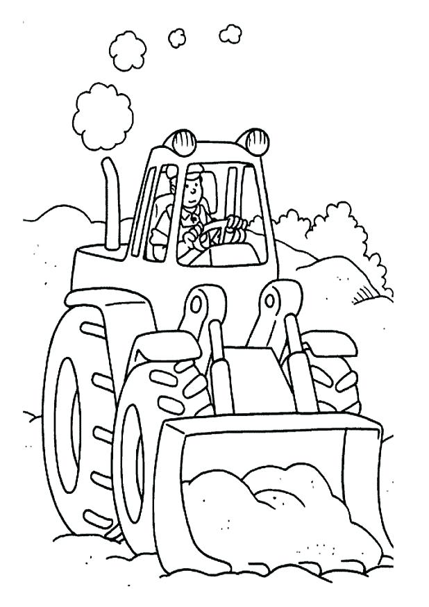 618x874 Free Printable Tractor Coloring Pages For Kids Printable Coloring