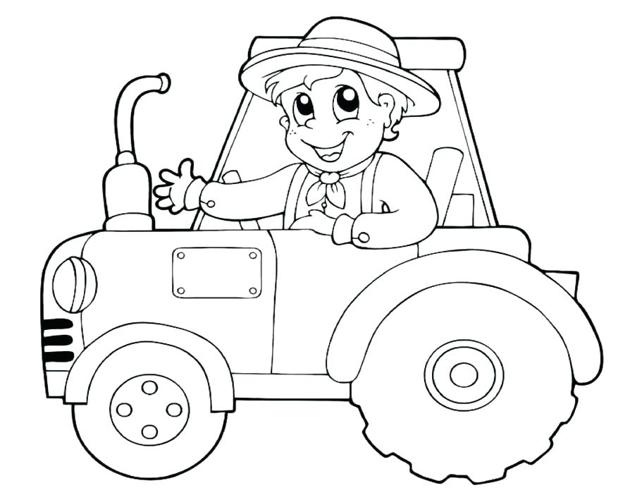 894x702 Wagon Coloring Pages Tractor Coloring Pages Unique Tractor Wagon