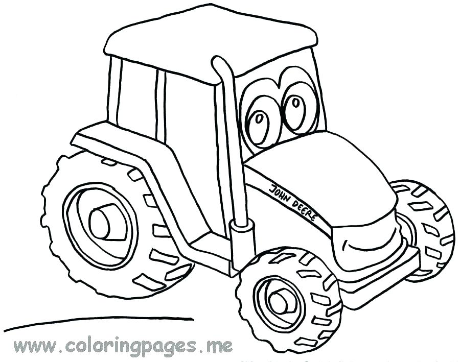 900x709 Coloring Pages Farmall Tractors Tractor Printable Book To Color