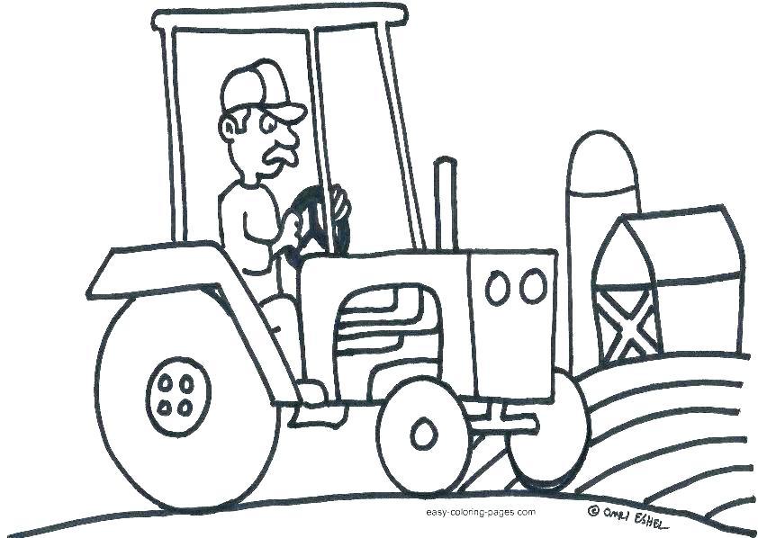 842x598 Coloring Pages Tractors Coloring Pages Tractors John Gallery