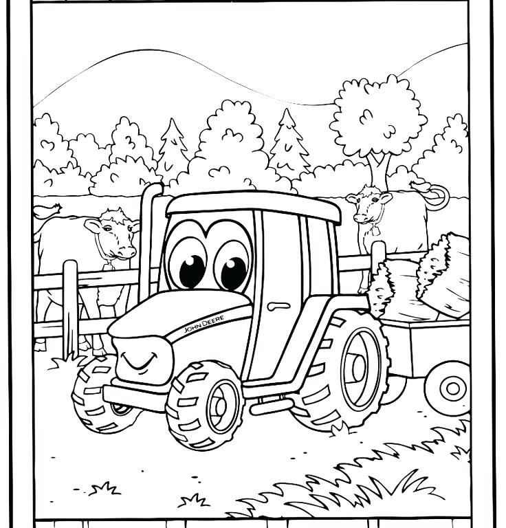 736x768 Coloring Pages Of Tractors John Coloring Pages Free Coloring Pages