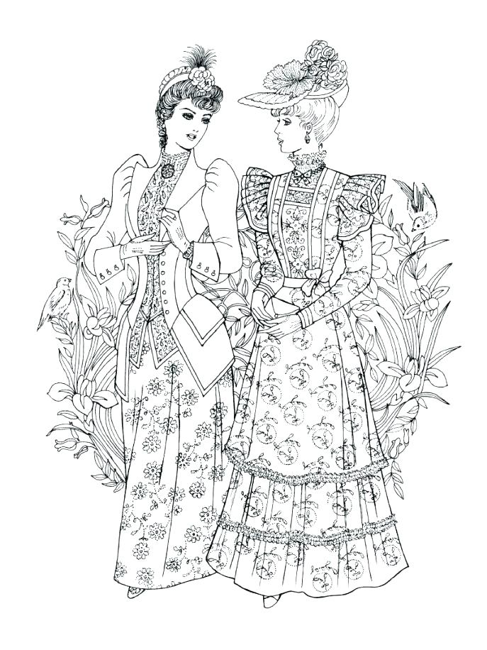 687x916 Barbie Fashion Coloring Pages Fashion Coloring Pages Together